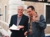 Con Federico Salvatore, amico cantautore
